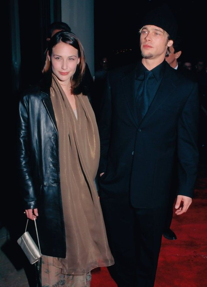 brad pitt and claire forlani