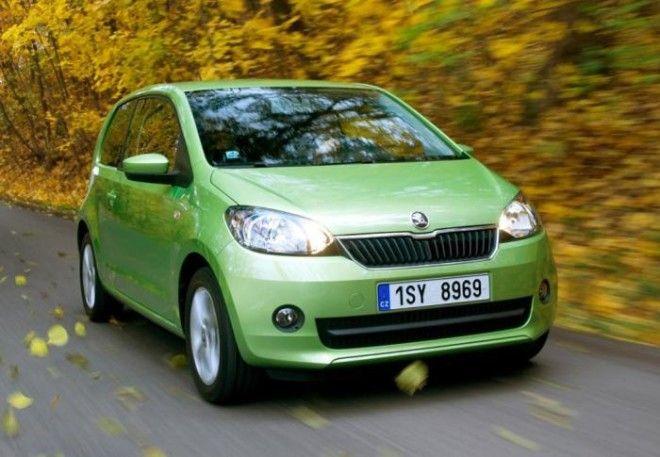 Skoda Citigo самый маленький автомобиль чешского производителя Фото autocheholcomua