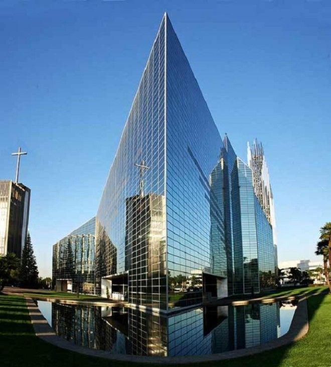 Самый высокий стеклянный храм в мире ГарденГров США