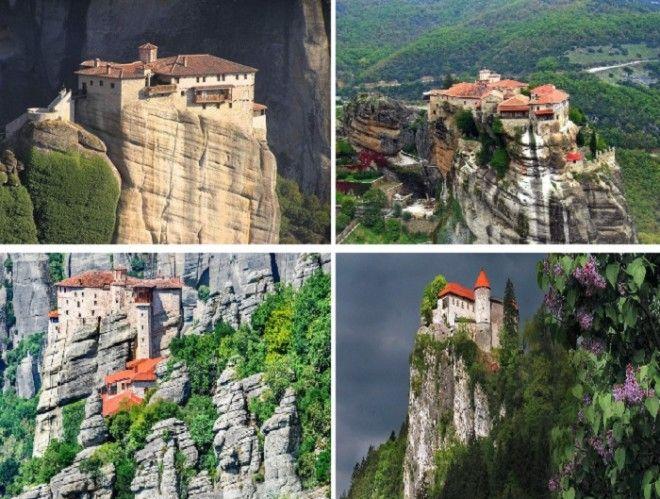 Самый уникальный православный храмовый комплекс Метеоры Греция