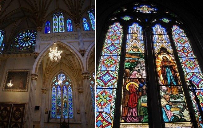 Величественный интерьер церкви