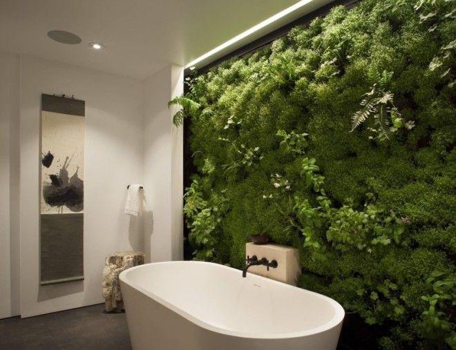 9. Любите растения? Создайте вертикальный сад дизайн, идеи для дома, интерьер, крутые идеи, фото