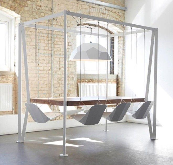10. Подвесные стулья дизайн, идеи для дома, интерьер, крутые идеи, фото