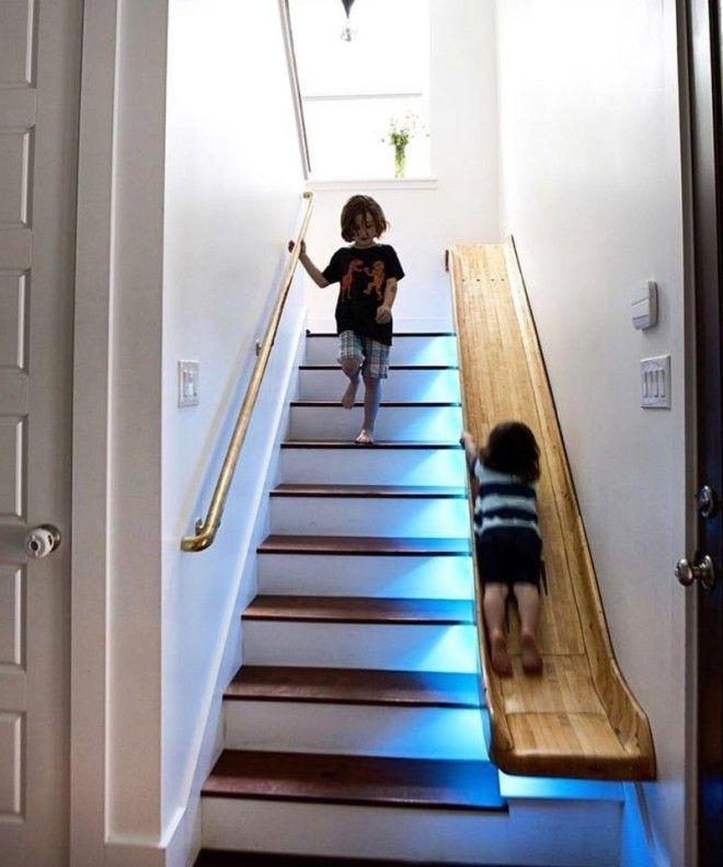 14. Если бы у меня была лестница, я бы точно сделал так дизайн, идеи для дома, интерьер, крутые идеи, фото