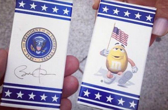 MMS официальные конфеты Белого дома