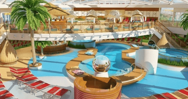 SBКорпорация Carnival представила крупнейший круизный лайнер за 700 млн евро