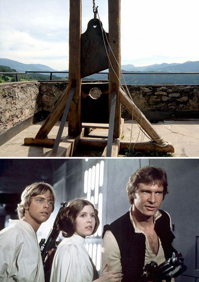 Казнь на гильотине и фильм Звездные войны