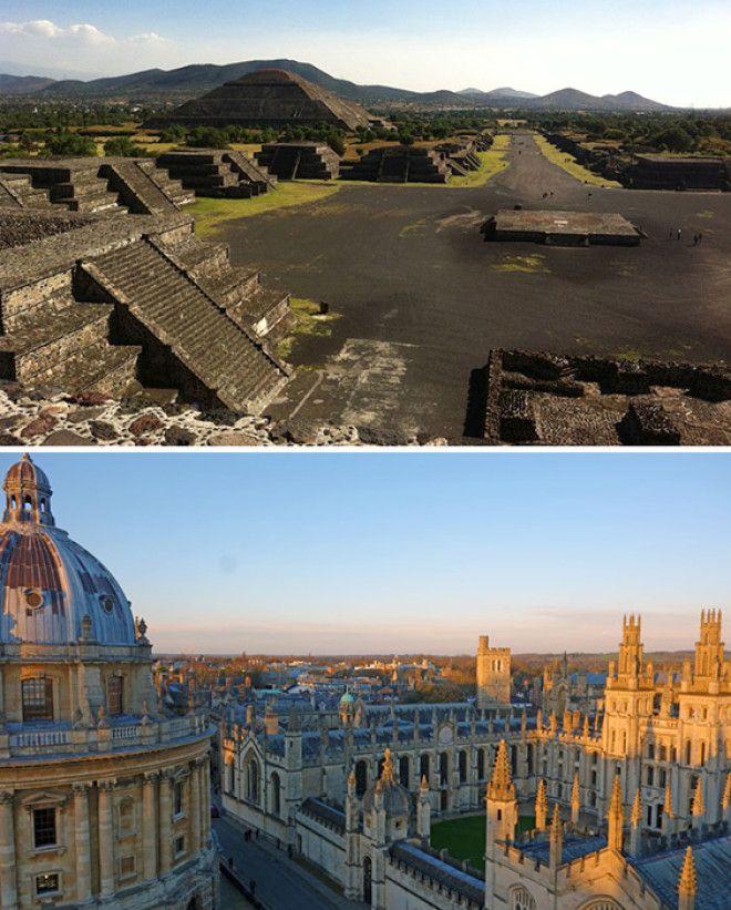 Цивилизация Ацтеков и университет в Оксфорде