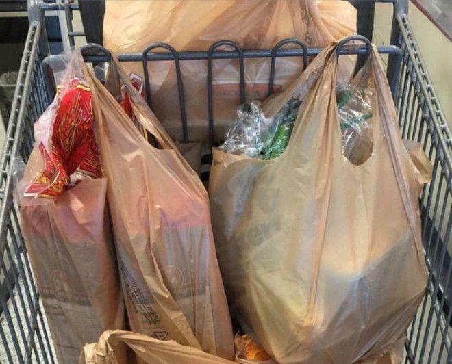 Как складывать продукты в тележку