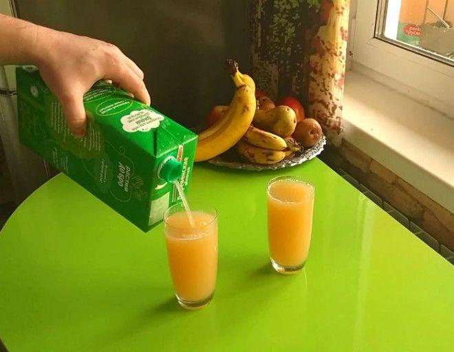 Как наливать напитки из тетрапаков