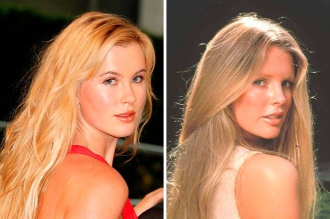 Дочка так похожа на свою знаменитую маму что однажды ей предложили сыграть в кино Ким Бейсингер в молодости