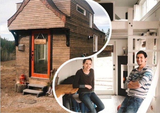 Маленький домик для путешествий и его создатели Беттина и Роберт