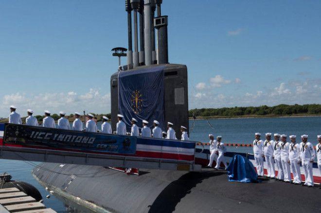 BАмериканцы спустили на воду самую совершенную подлодку