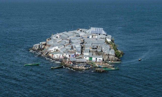 S7 жутких фото самого густонаселенного острова в Африке