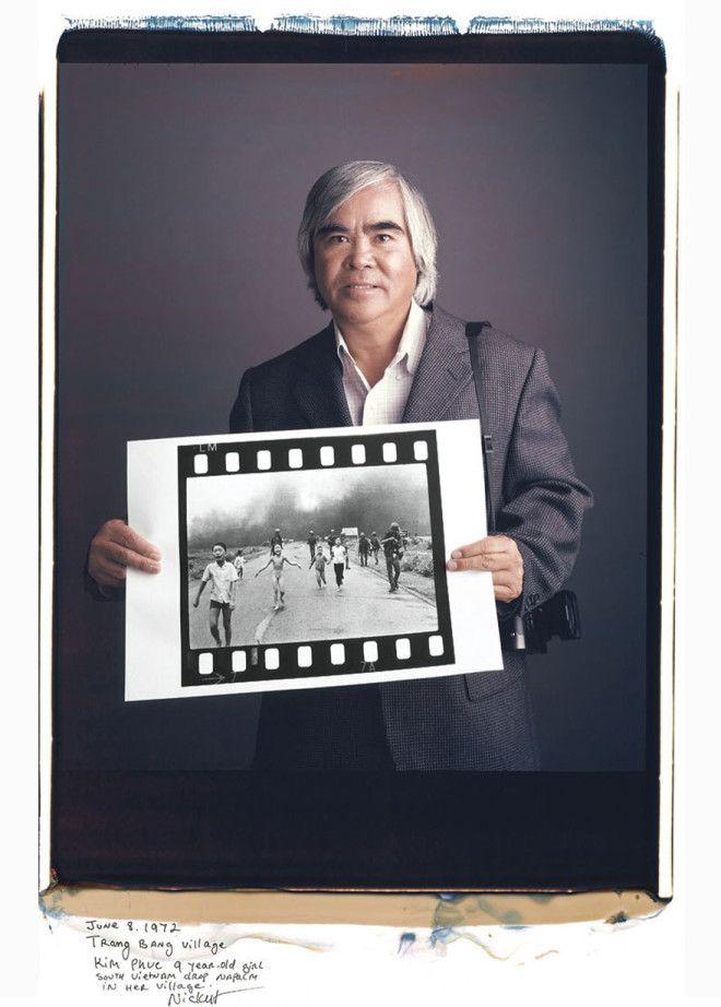 Ник Ут Nick Ut Напалмовая атака во Вьетнаме 1972 год