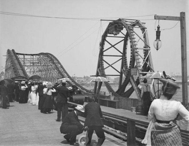 Амерканские горки 1900 год