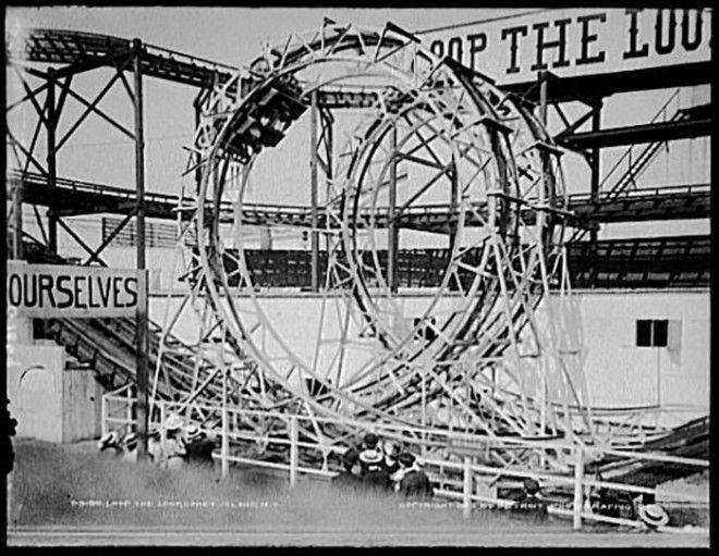 Инновация на аттракционе Томпсона КониАйленд 1903