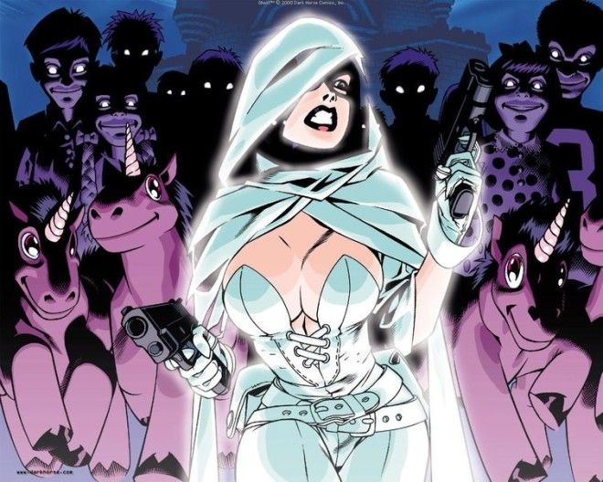 самые горячие героини комиксов