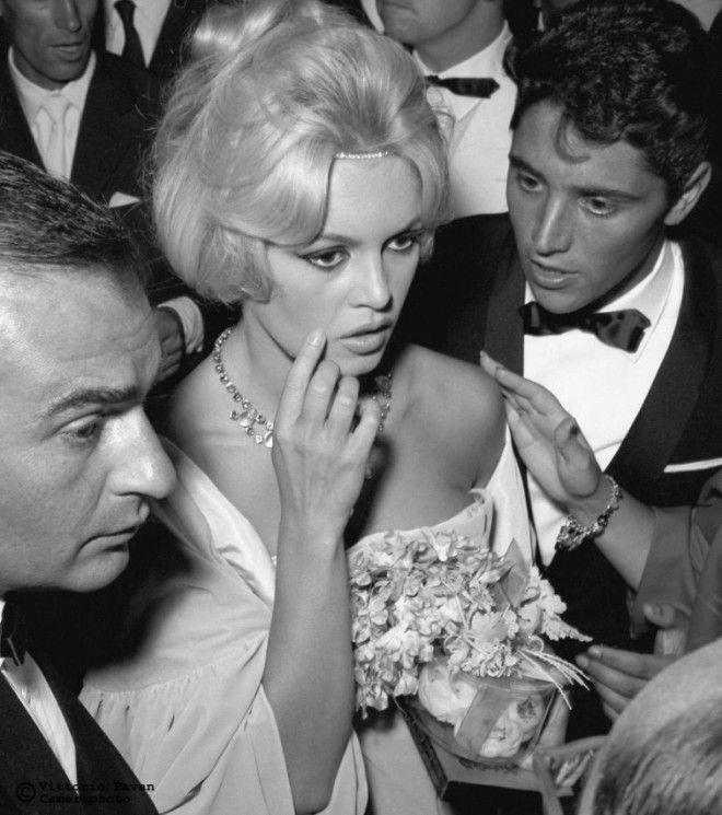 фотографии знаменитостей сделанные в Венеции в 50х и 60х годах
