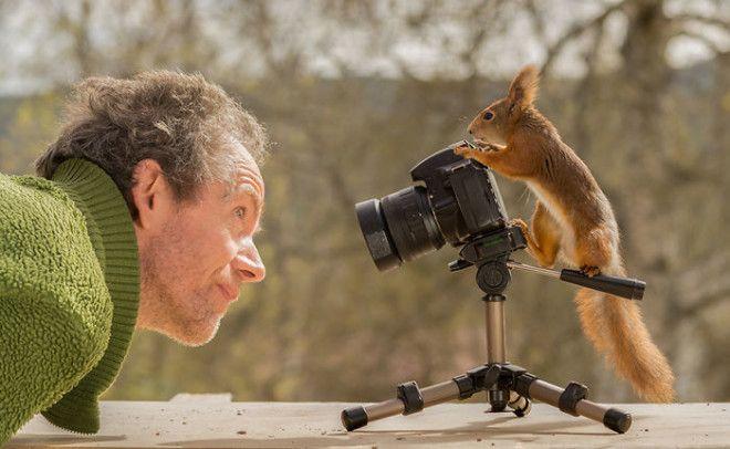 BФотограф 6 лет снимал белок и вот его лучшие работы
