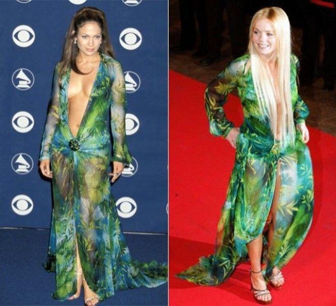 SBFashionбитва Звезды в одинаковых платьях кому идет больше