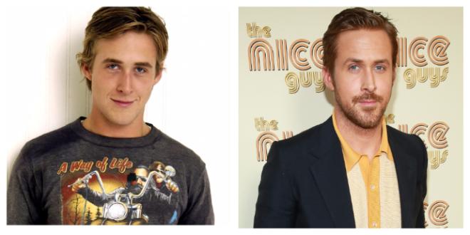 SДо и после какими были знаменитые красавчики в юности