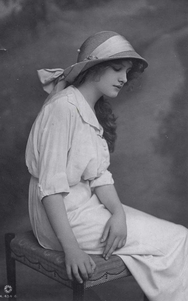 Мгновения прошлого как выглядели юные леди 100 лет назад