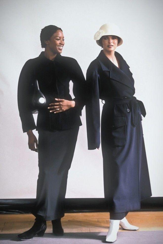 23Как выглядели модные журналы когда модели были натуральными