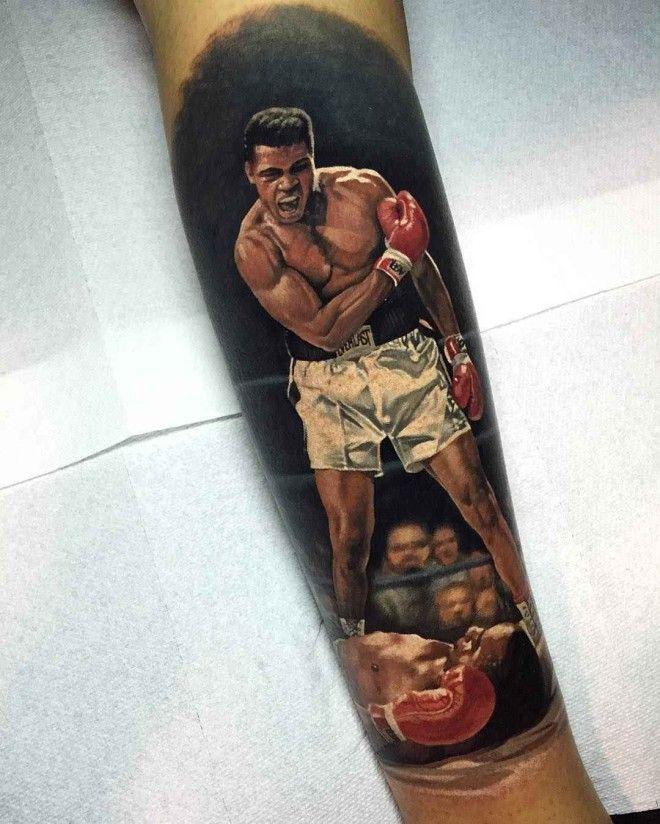 Tattoo artist Steve Butcher photorealistic color realism tattoo, portrait | Тату-мастер Steve Butcher фотореалистичные цветные татуировки , портретный реализм