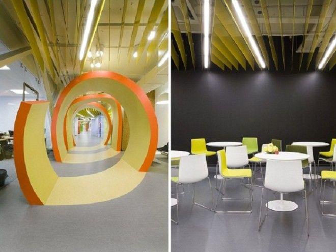 Офис для интернеткомпании Яндекс в СанктПетербурге Россия Фото 24gadgetru