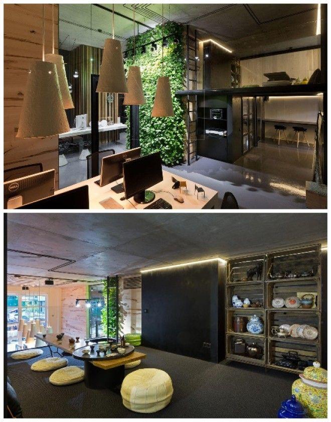 Удивительный интерьер офиса больше похож на галерею Sergey Makhno Architects Киев