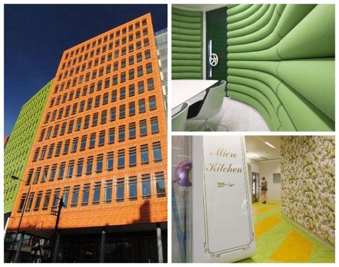 Необычный офис открылся в Лондоне где все сделано для комфорта сотрудников Штабквартира Google в Лондоне Великобритания