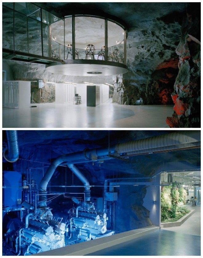 Дизайн нестандартного офиса выполнили в постапокалиптическом стиле Bahnhof Office Стокгольм