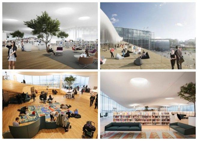 Уникальная библиотека вызывает небывалый интерес как у финнов так у гостей столицы Центральная библиотека Oodi Хельсинки