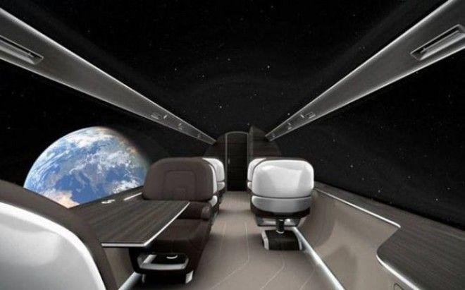 Самолет без окон который заставит вас путешествовать в два раза чаще