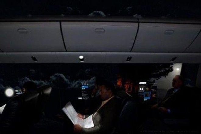 SСамолет без окон который заставит вас путешествовать в два раза чаще