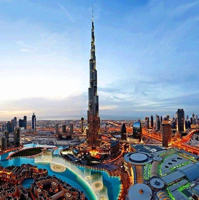 А вот фото Дубая, сделанное в 2015 году