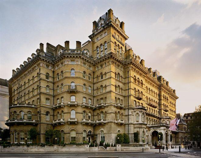 5 Отель Langham в Лондоне