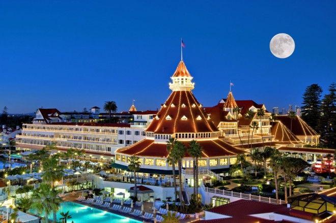 4 Hotel del Coronado в СанДиего