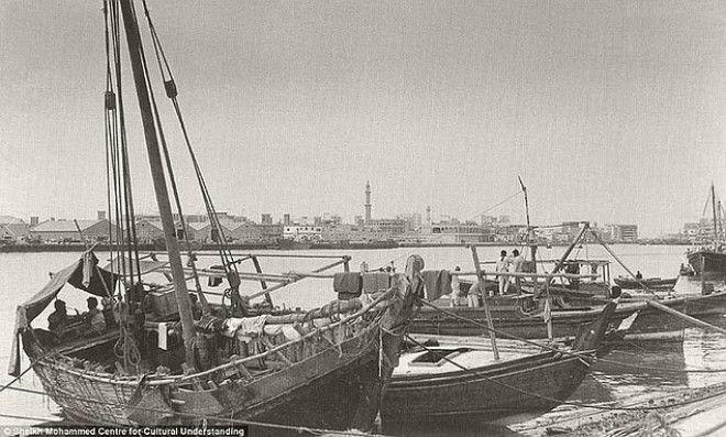 Один из заливов в Дубае. Раньше он был маленьким центром торговли жемчужинами и рыболовства