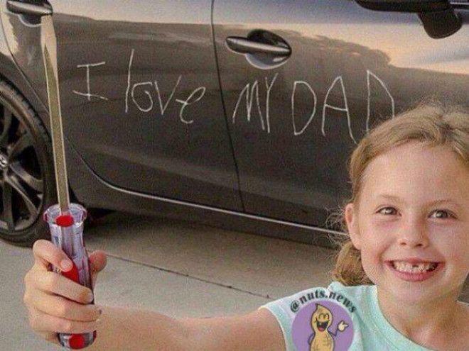 Дочкина любовь отцовское терпение Фото Gorodlv