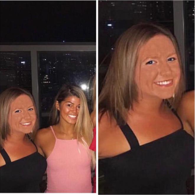 SПугающий фотошоп девушки хотели как лучше а получилось как всегда