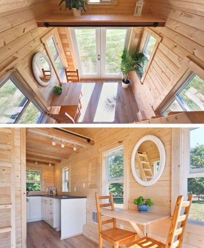 SПлощадь дома на колесах всего 15 квадратных метров но как уютно внутри
