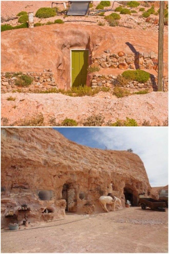 Некоторые дома города имеют свой личный вход КуберПеди Австралия Фото locusterraru
