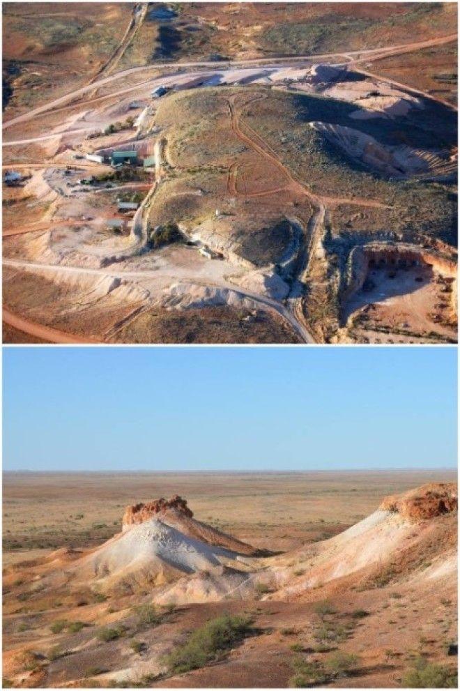 Пейзажи региона где расположен подземный город КуберПеди Австралия Фото alexkoloslivejournalcom