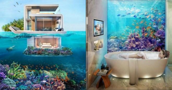 Потрясающе! Теперь существуют подводные этажи!