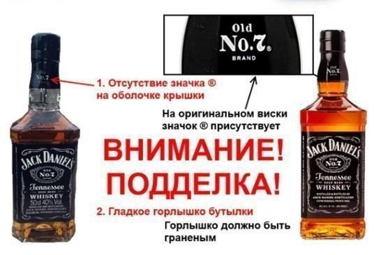 Как не купить подделку популярных алкогольных напитков?