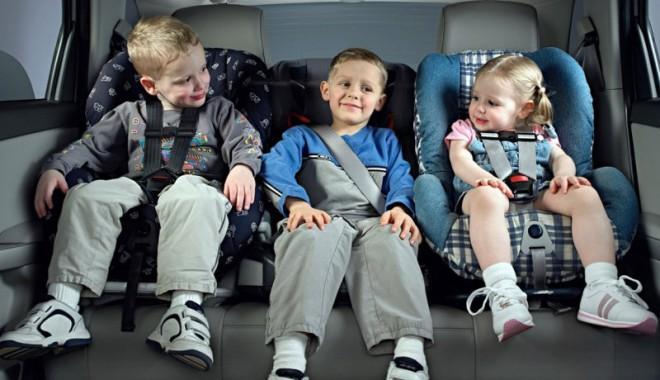 Обезопасьте перевозку Вашего ребенка.