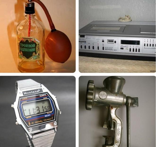 А у тебя сохранилось что-то из предметов тех времен?