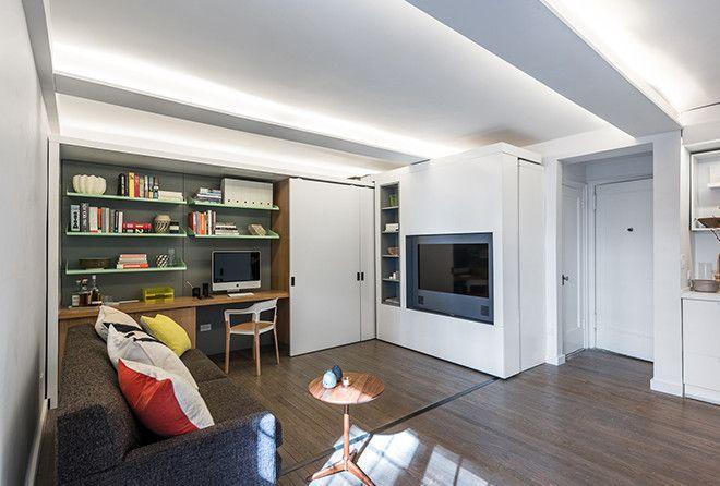 Очень прикольная идея для маленьких квартир
